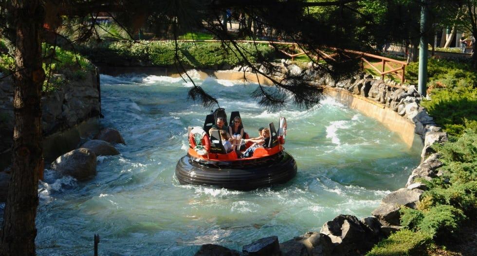 Europapark Eurosat Can Fjord rafting