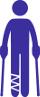 Fahrdienst für Fussgänger mit eingeschränkter Bewegungsfreiheit (Sitzendltransport)