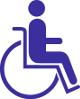 Fahrdienst für im Rollstuhl (Rollstuhltransport)