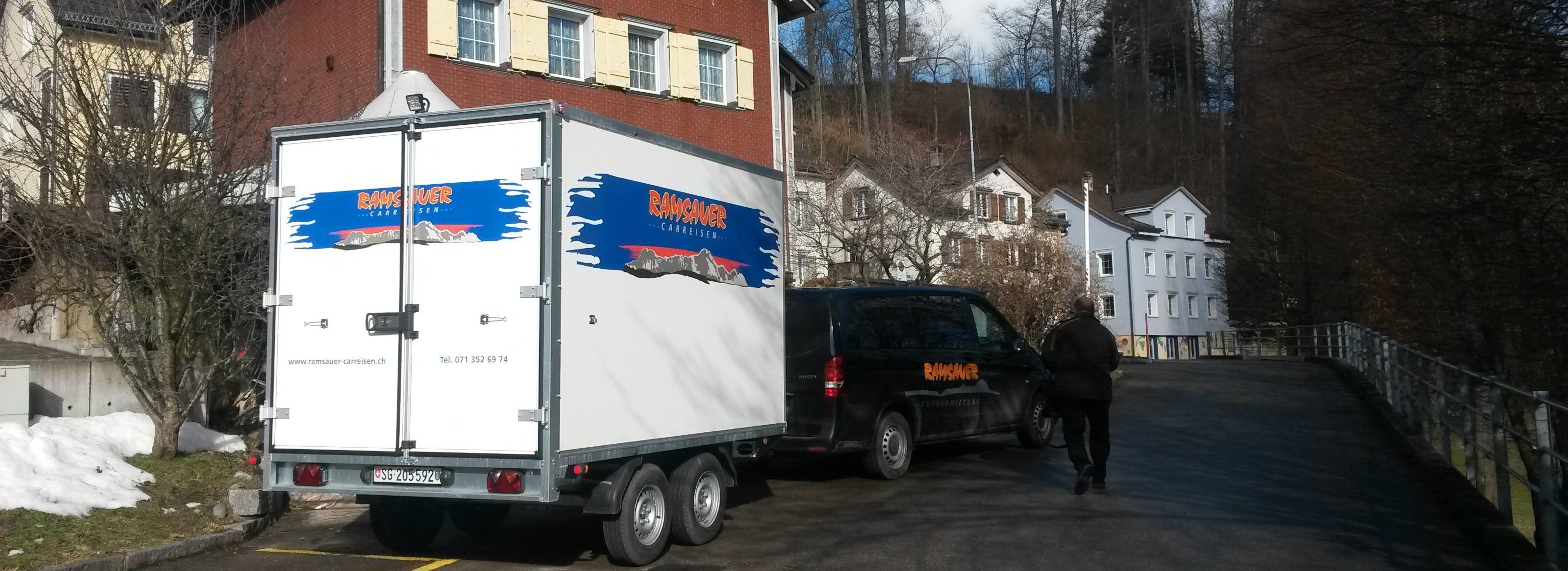 Medio, der Mittelgrosse Anhänger von Ramsauer Carreisen GmbH