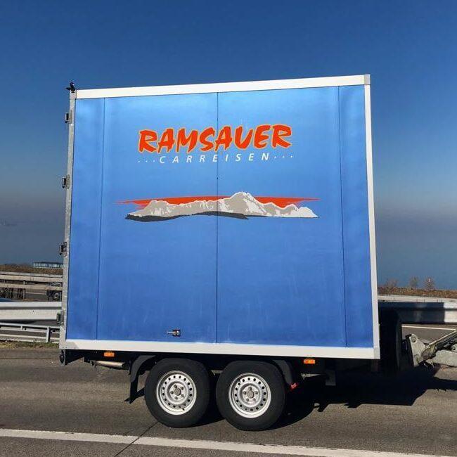Giganto - der grosse Anhänger von Ramsauer Carreisen