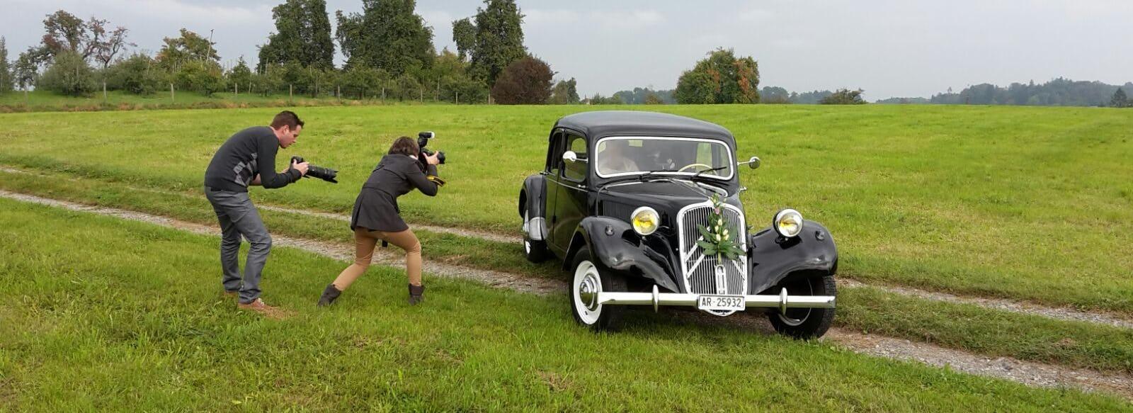 Oldi Hochzeit Fotografin
