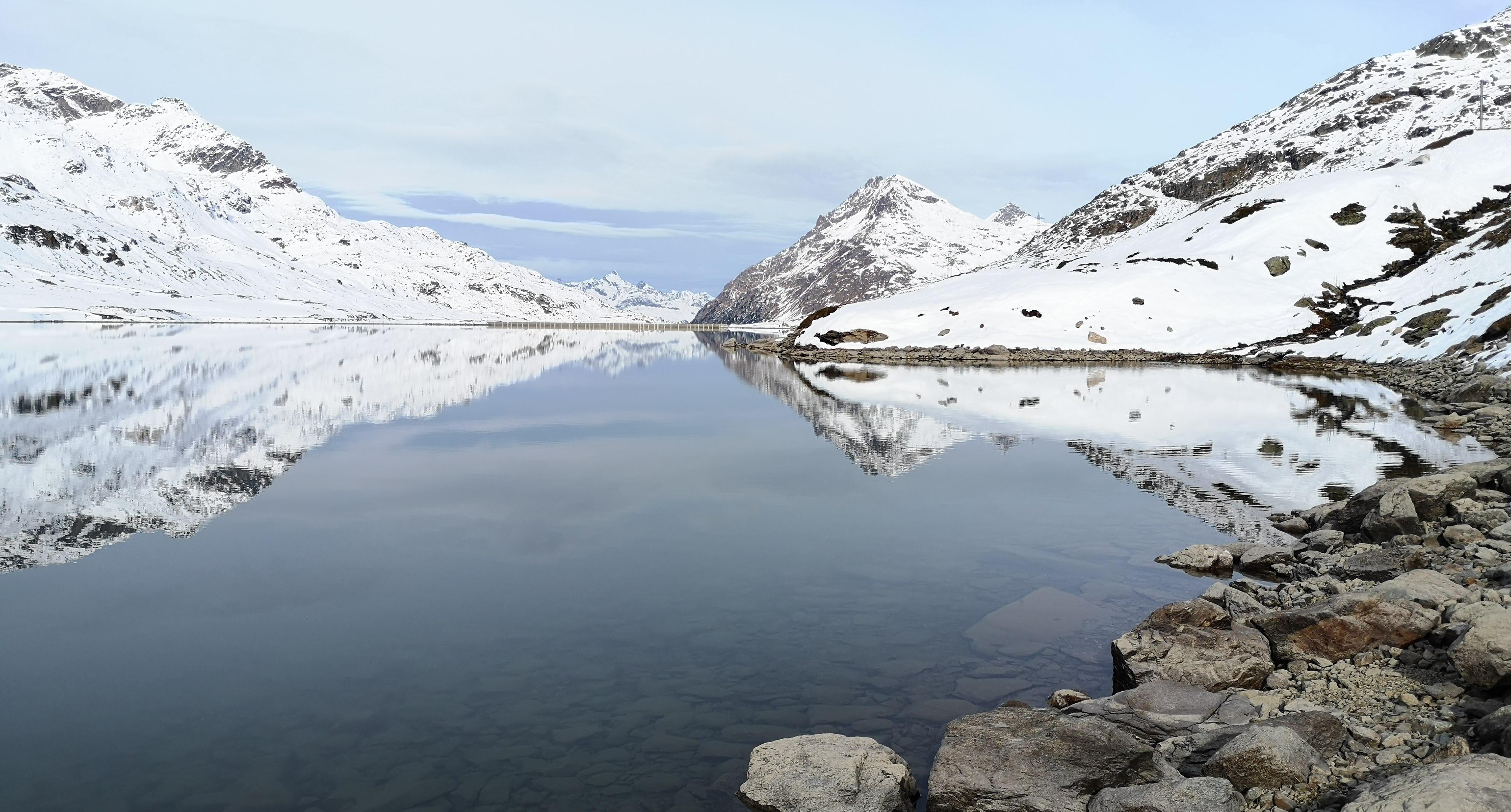 Bernina Bergspiegelung Ramsauer Carreisen