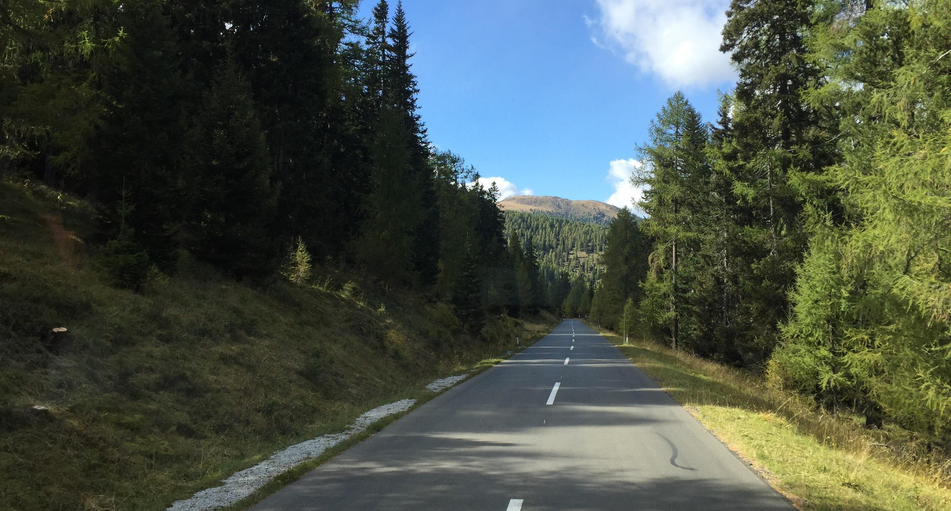 Carfahrt Strasse Weissensee