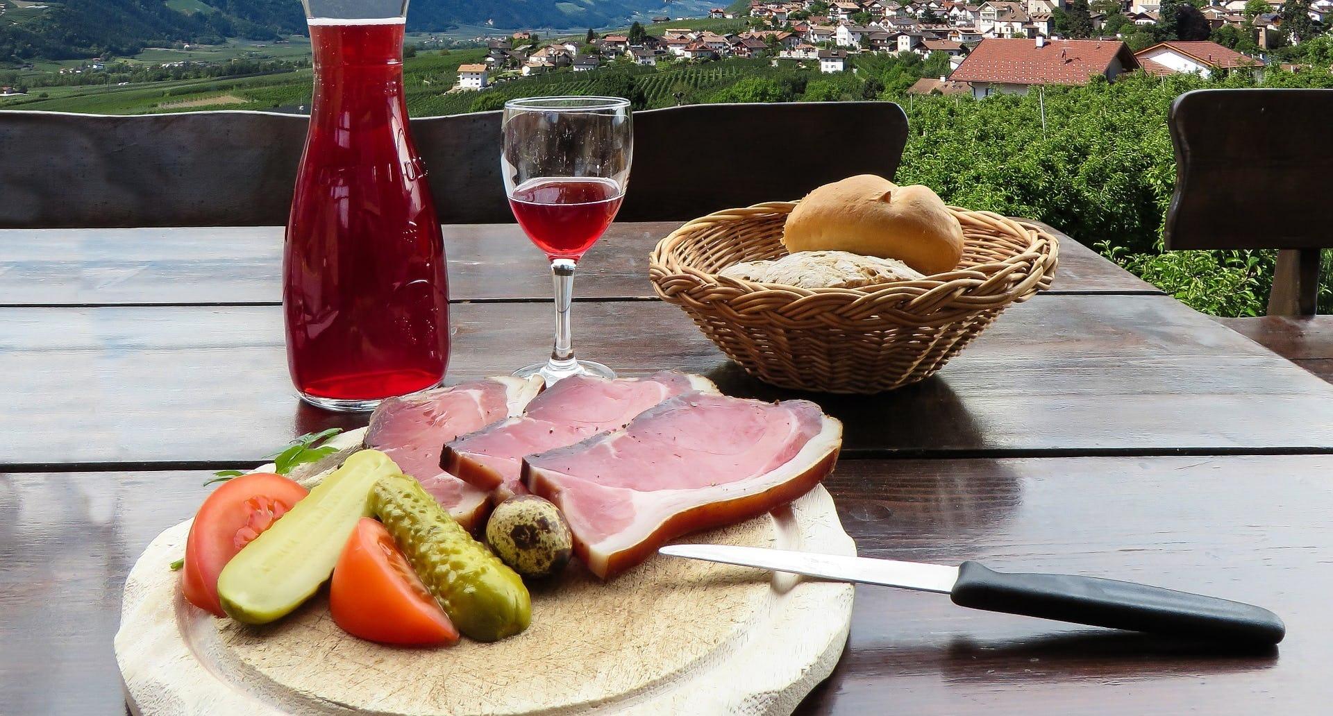 Weinreise Ramsauer Jause