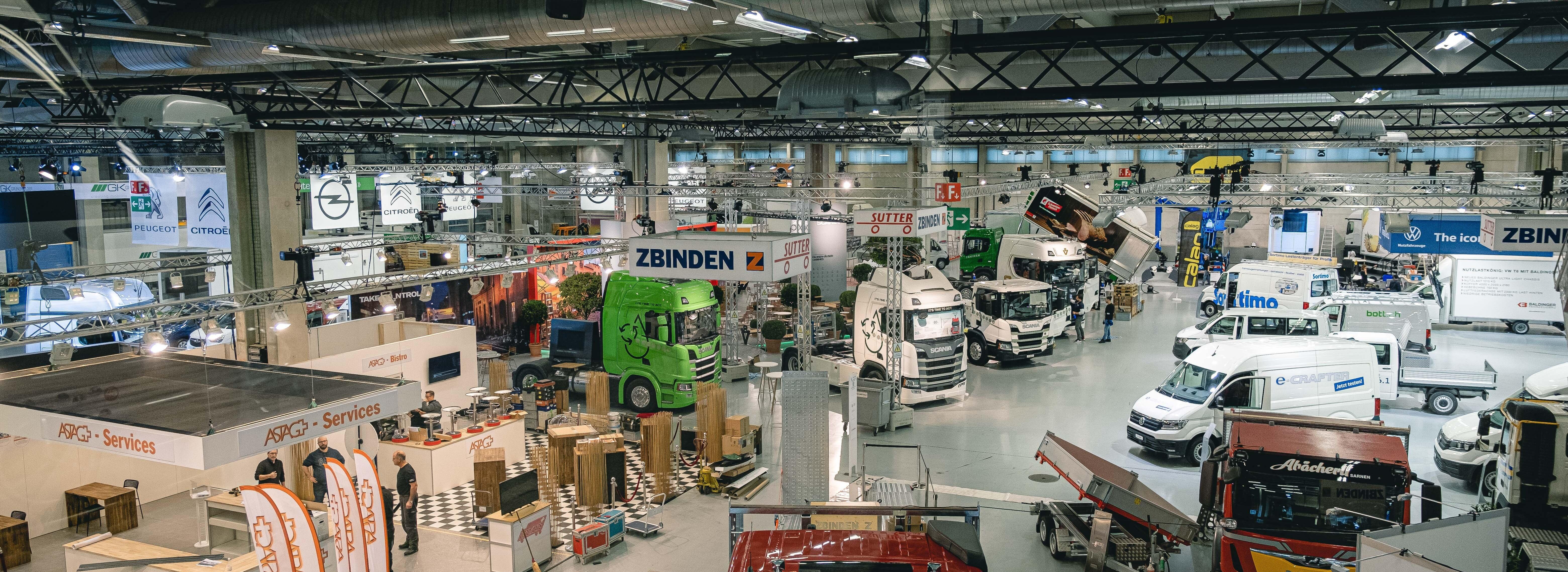 Transport.ch Messehalle Ramsauer Carreisen