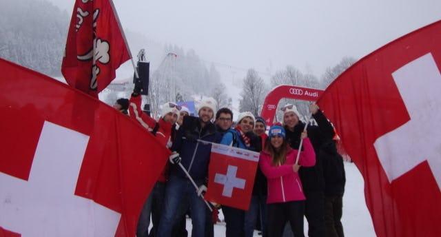 SchweizerFans, Hahnenkamm-Rennen