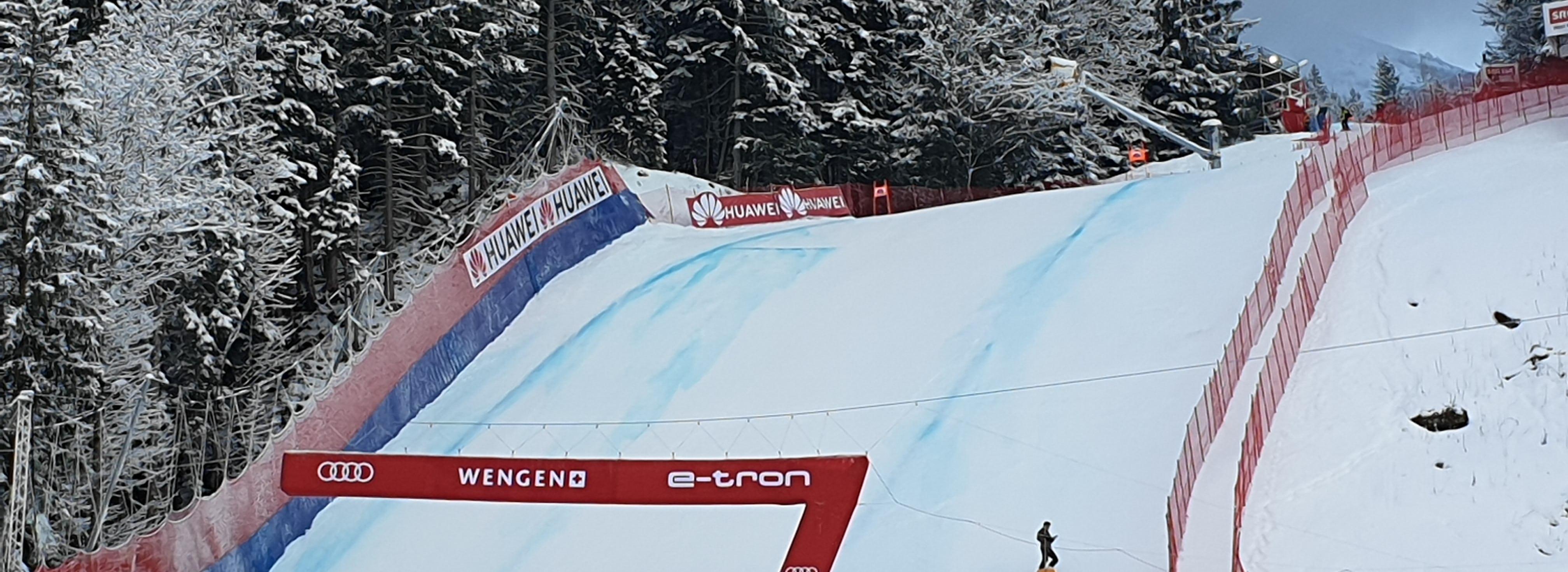 Lauberhorn-Rennen, Piste