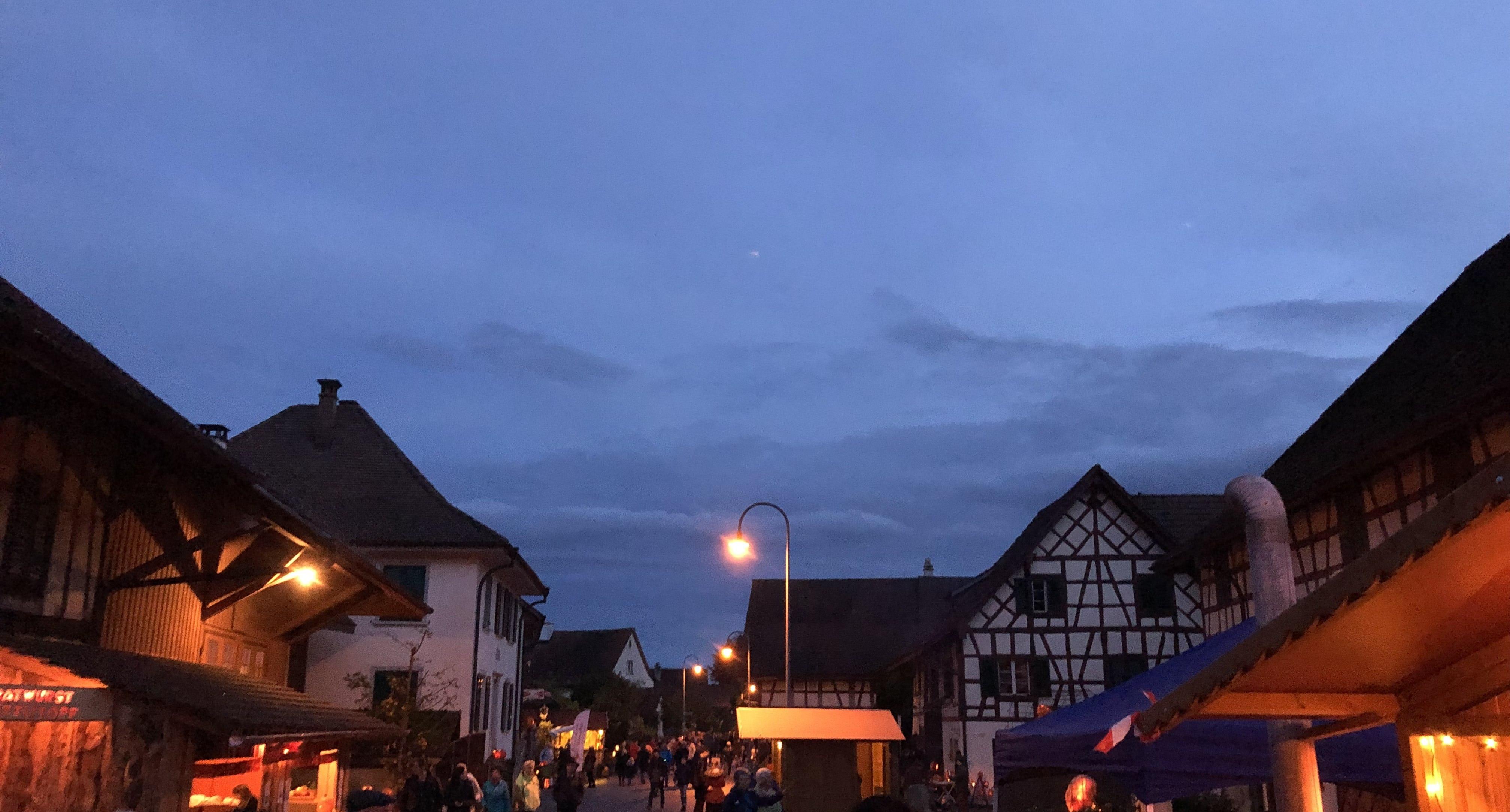 Kürbisbeleuchtung Rudolfingen Strasse