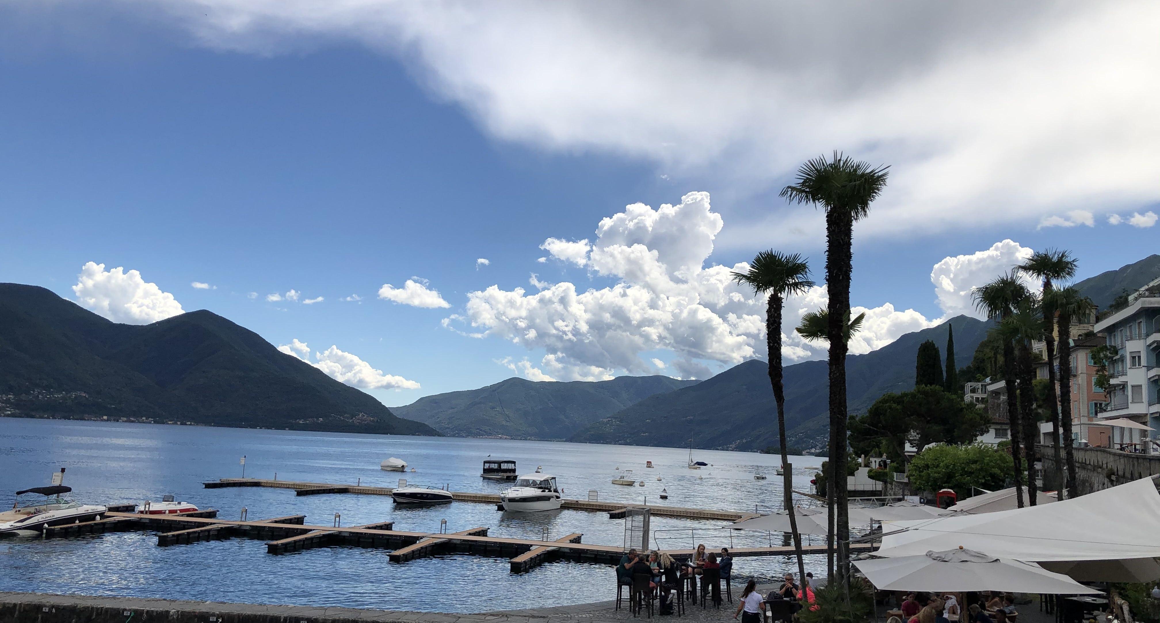 Ascona See Berge Ramsauer