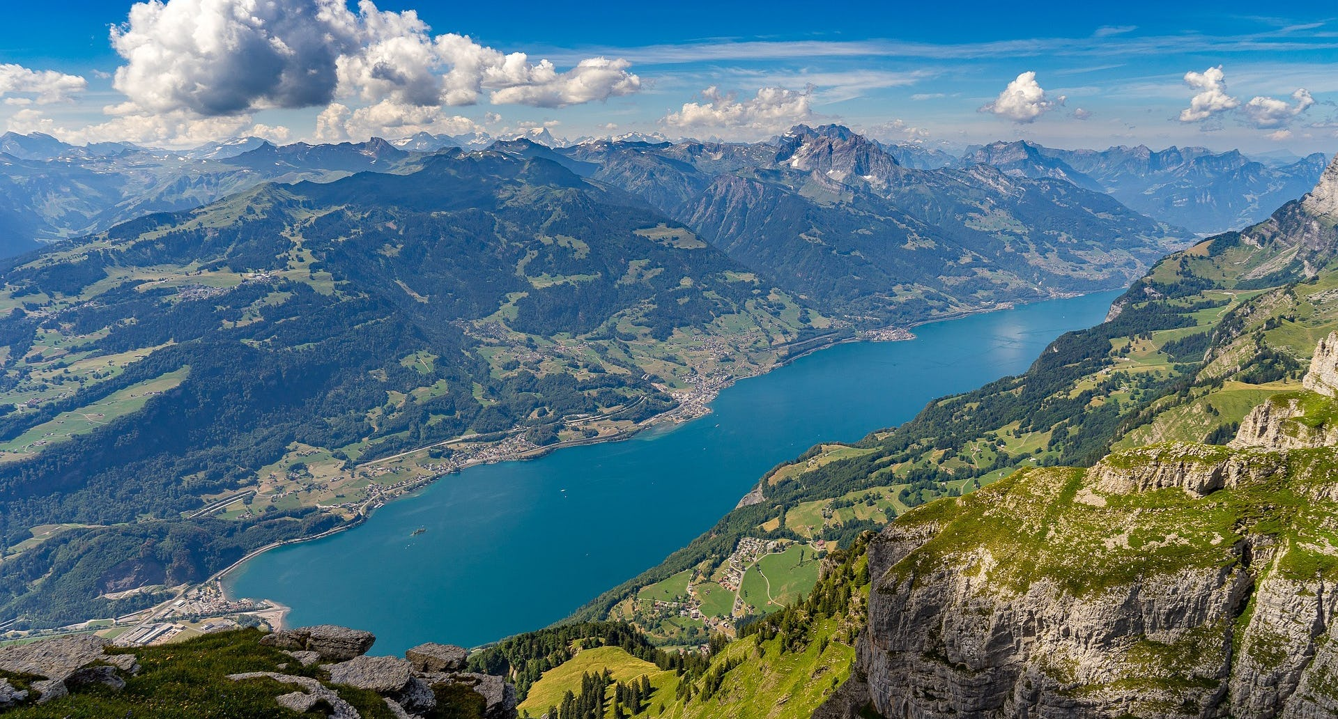 Walensee Blick Tagesreise Ramsauer
