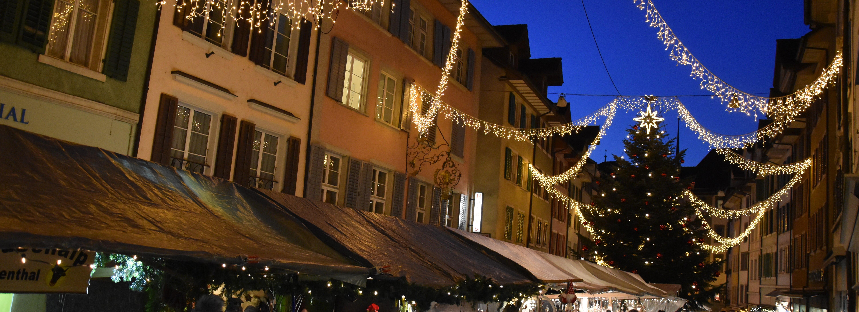 Ramsauer Carreisen Weihnachtsmarkt Bremgarten Nacht