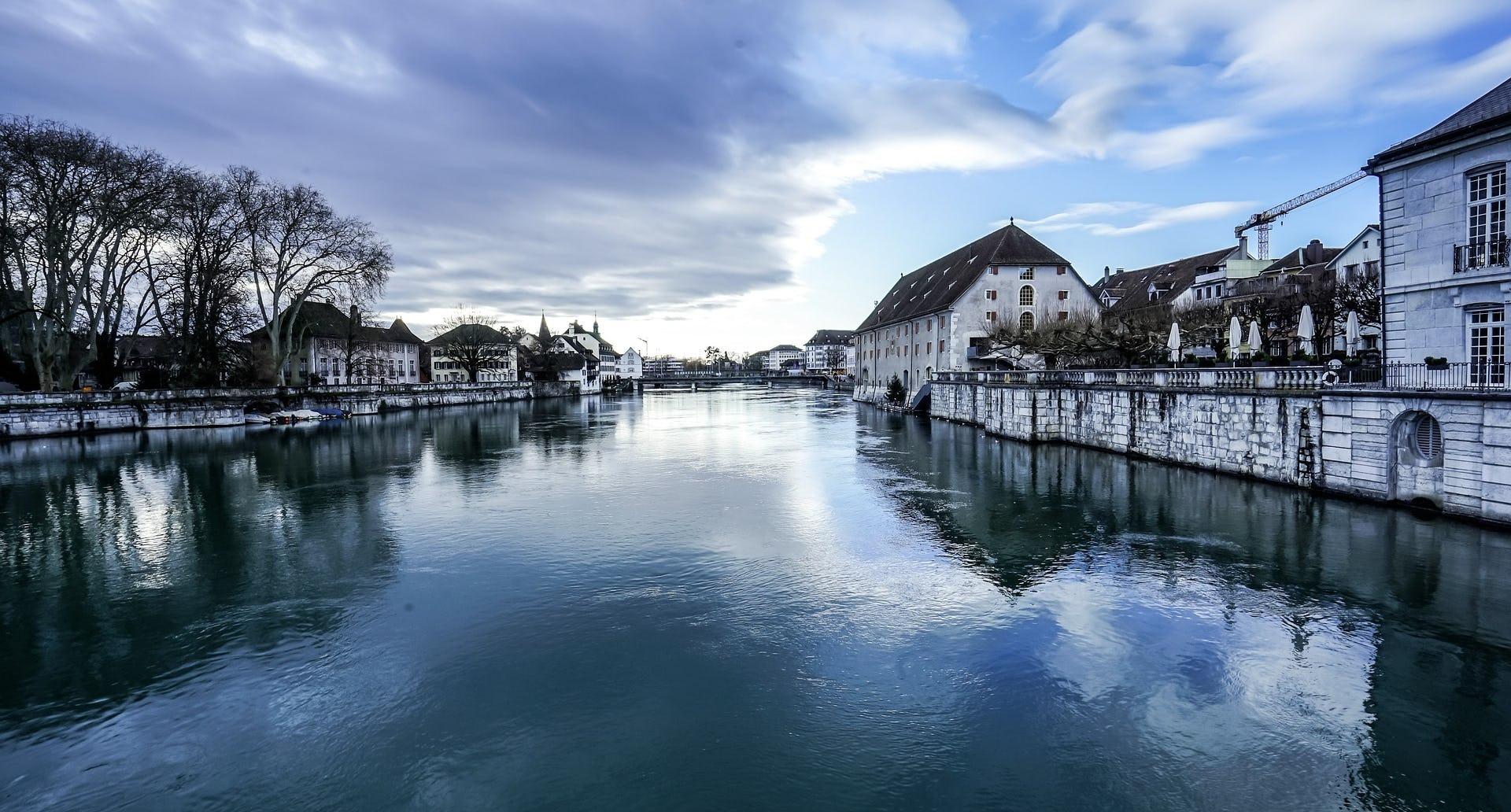 Solothurn Aare Weihnachtszeit Ramsauer Carreisen