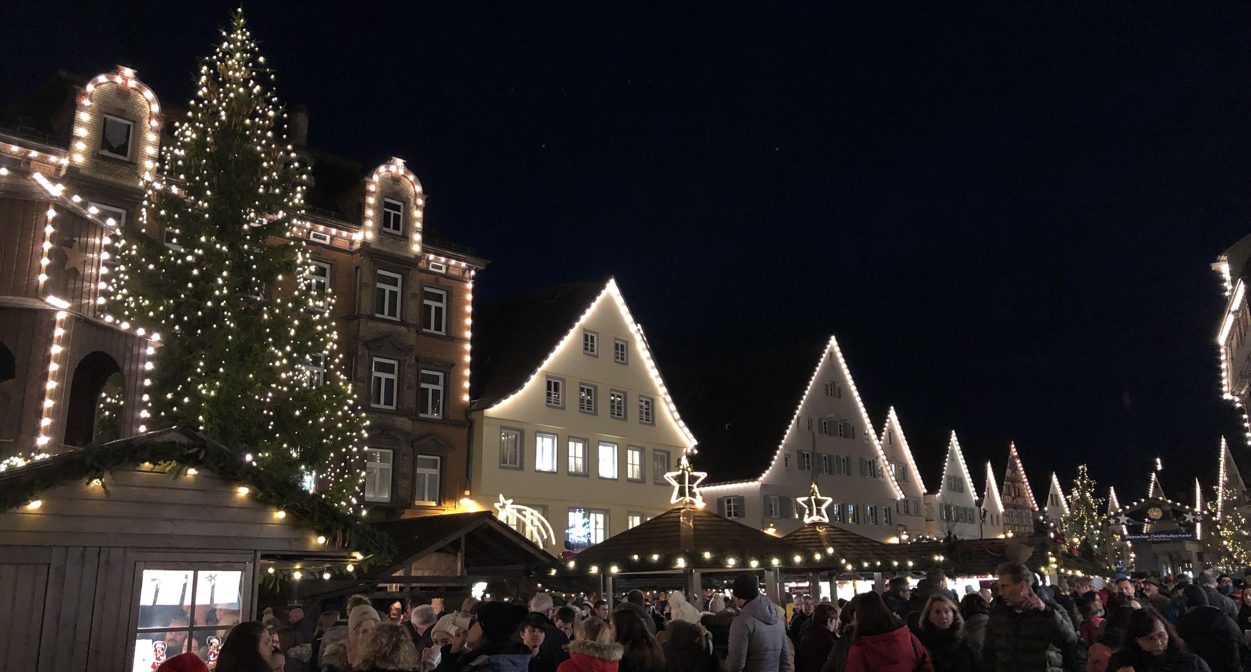 Biberach Weihnachtsmarkt Ramsauer Carreisen