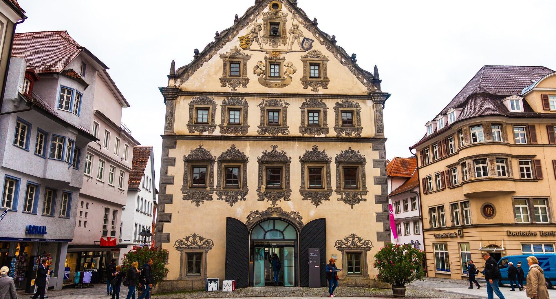 Ravensburg Altstadt Ramsauer Carreisen Weihnachtsmarkt