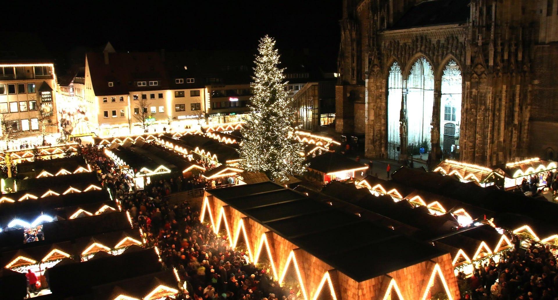 Ulm Weihnachtsmarkt Staende Ramsauer Carreisen GmbH