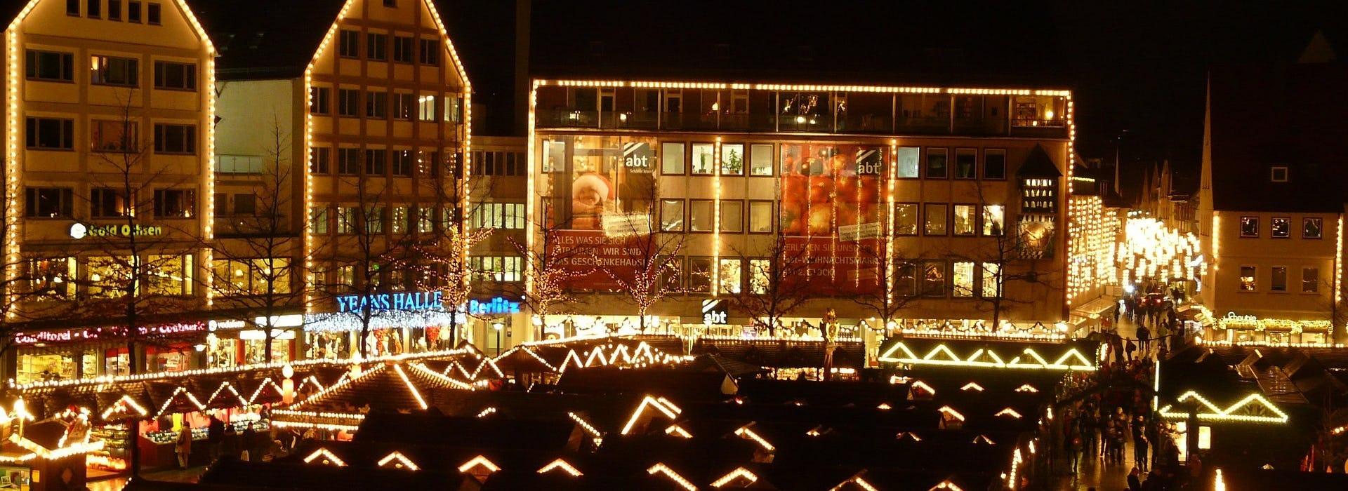 Ulm Weihnachtsmarkt Ramsauer Carreisen