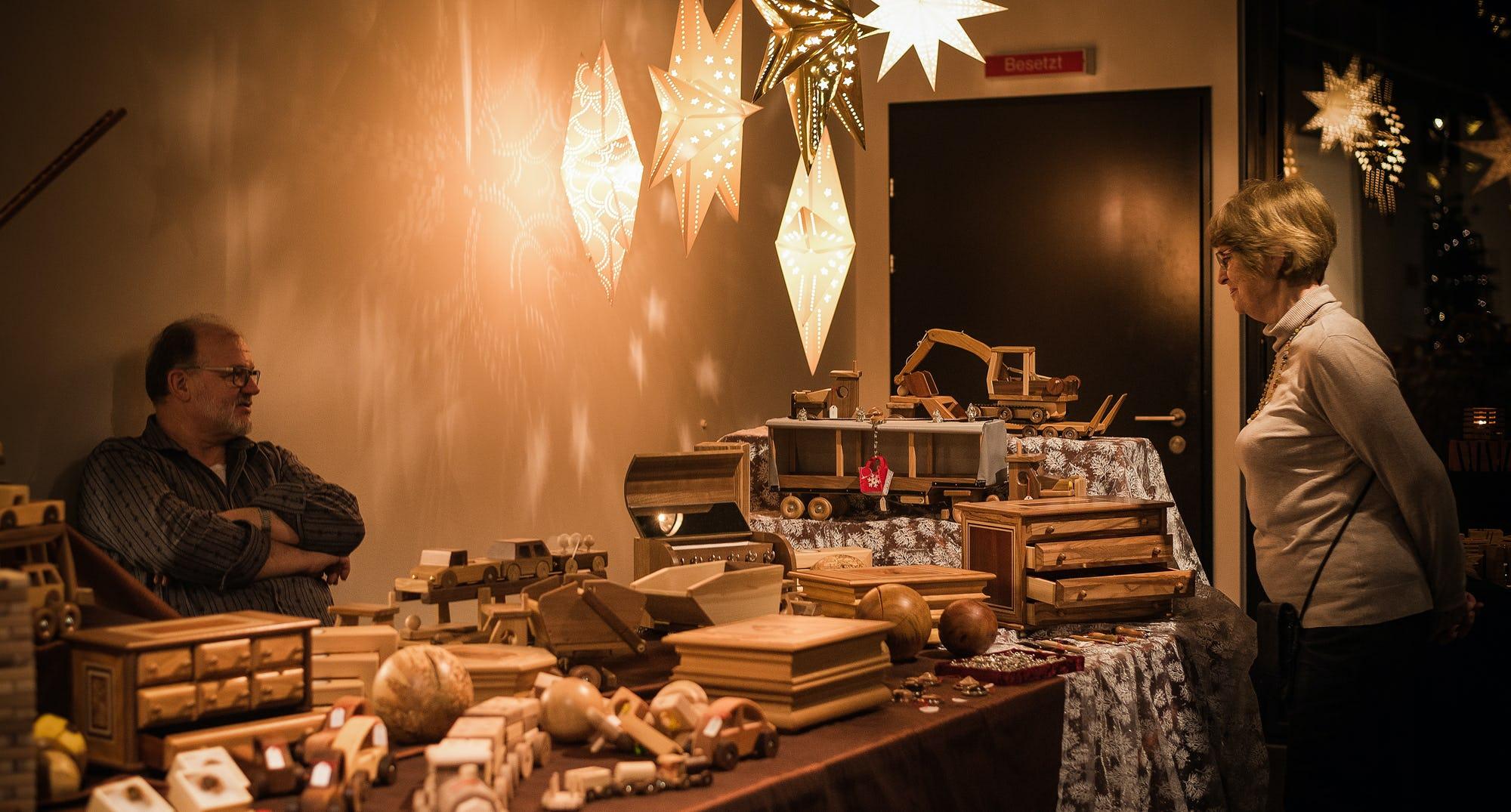 Pilatus Weihnachtsmarkt Stand Ramsauer Carreisen